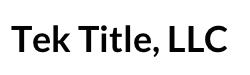 Tek Title, LLC Logo